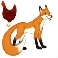 حکایت روباه و مرغ های قاضی
